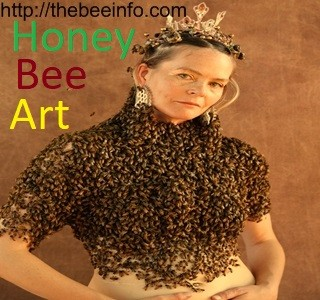 Honey Bee Art – Bee Magic – It's Fun To Play With Bees!